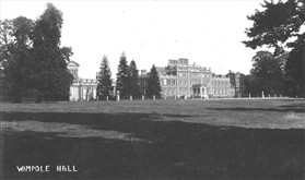 Photo:Wimpole Hall around 1920 to 1930